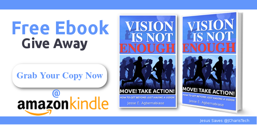 Vision Is Not Enough Available on Amazon