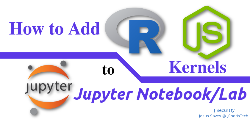 How to Add R and Nodejs in Jupyterlab