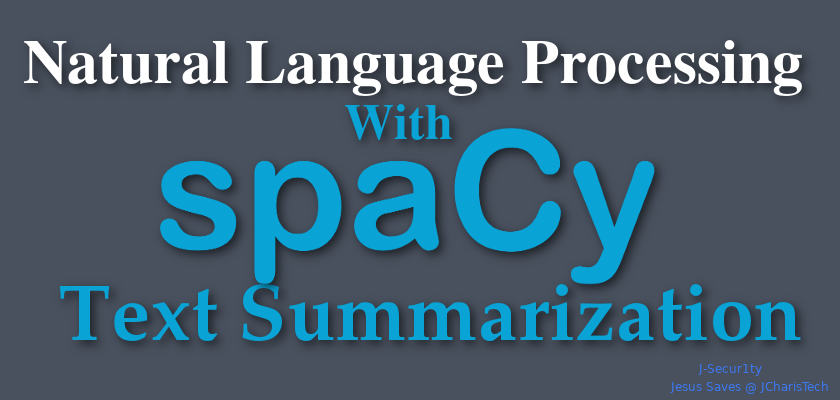 How to summarize a text in spacy