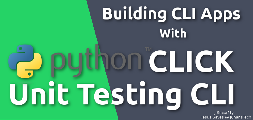 Unit Testing CLI Python