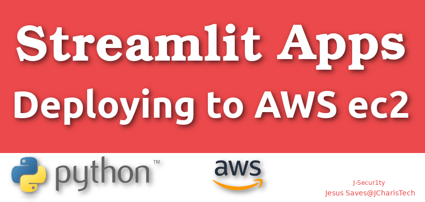 how to deploy streamlit to AWS ec2