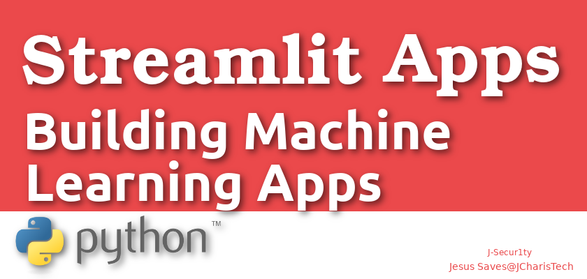 building machine learning apps with streamlit