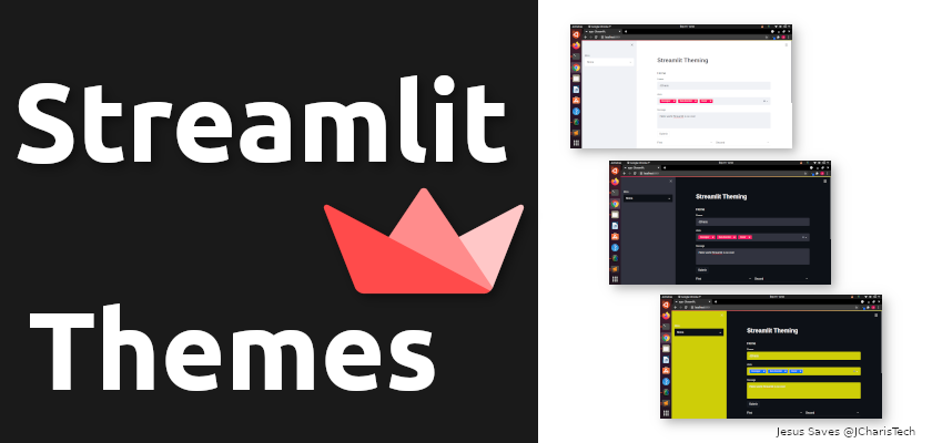 streamlit themes